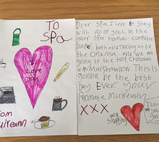 A Thank You Card from Muireann!!