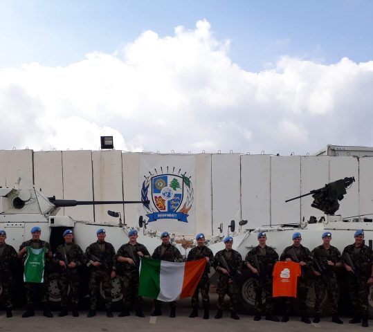 Support from Irish Army Members in South Lebanon