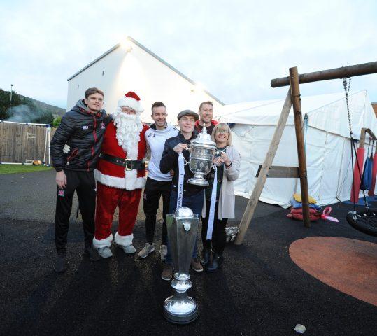 Dundalk FC Players visit our centre