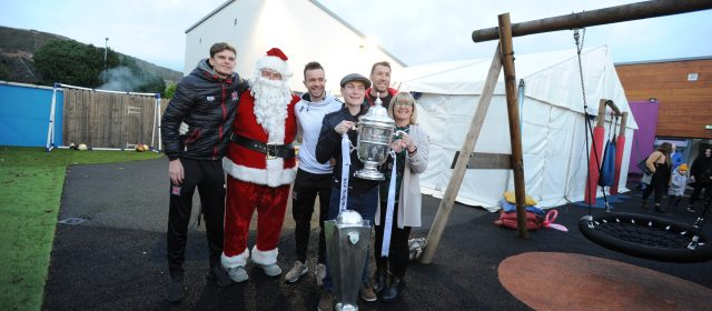 Dundalk FC Players visit our centre